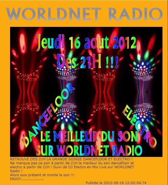 dancefloor worldnet radio