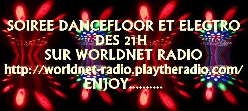 worldnet radio soirée dancefloor