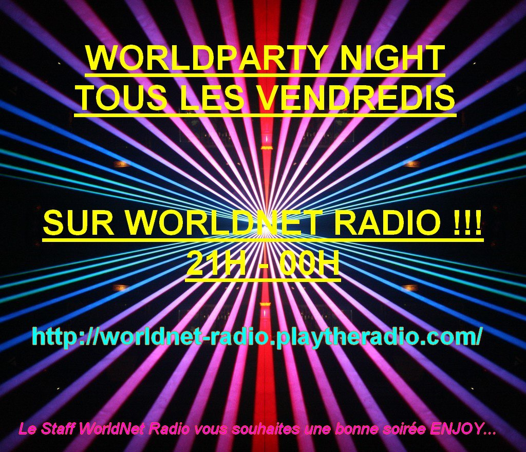worldparty night du vendredi