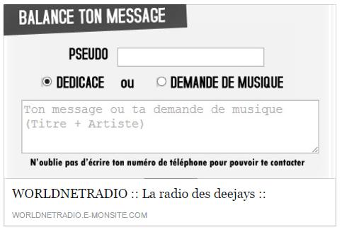 dédiaces en live sur ta radio